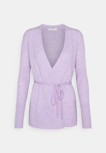 WRAP CARDIGAN - Cardigan - lavender
