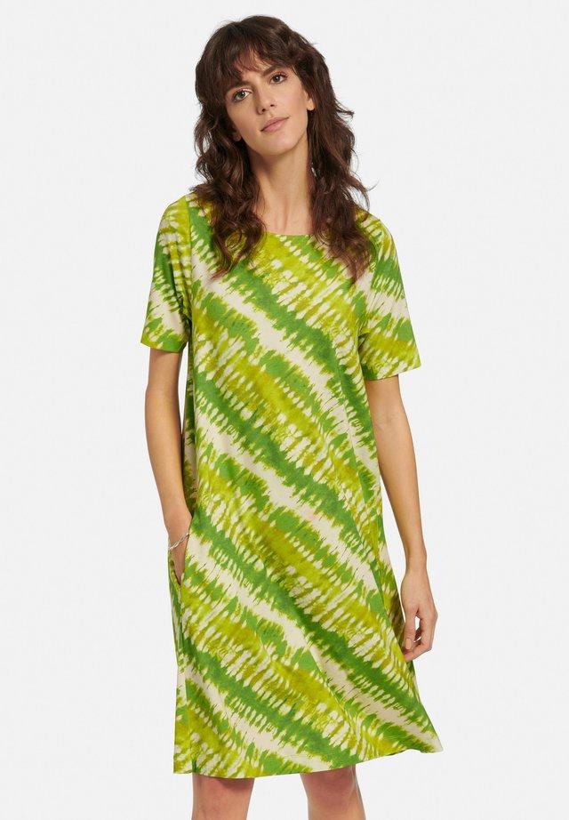 Jerseyjurk - grün/multicolor