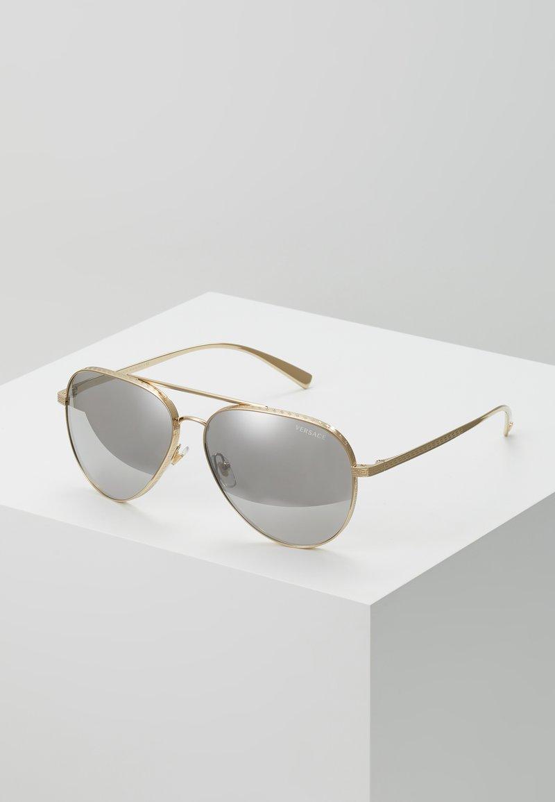 Versace - Sunglasses - pale gold-coloured