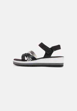 Sandály - schwarz