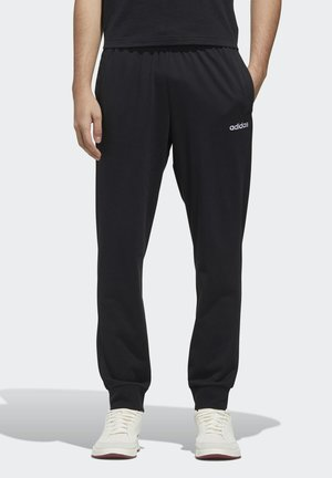 ESSENTIALS JOGGER JOGGERS - Tracksuit bottoms - black