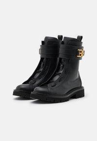 Bally - GLARIS - Cowboy/biker ankle boot - black - 2