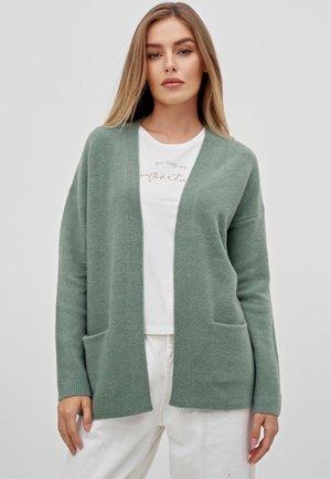 Cardigan - sage green