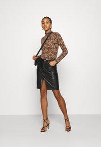 Monki - VANJA - Long sleeved top - brown - 1