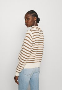 Mos Mosh - STRIPE - Jumper - toasted cocount - 2