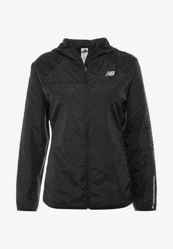 ACCELERATE WINDCHEATER REFLECTIVE JACKET - Sports jacket - black
