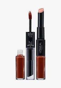 L'Oréal Paris - INFAILLIBLE X3 LIPSTICK - Lippenstift - 117 perpetual brown - 0