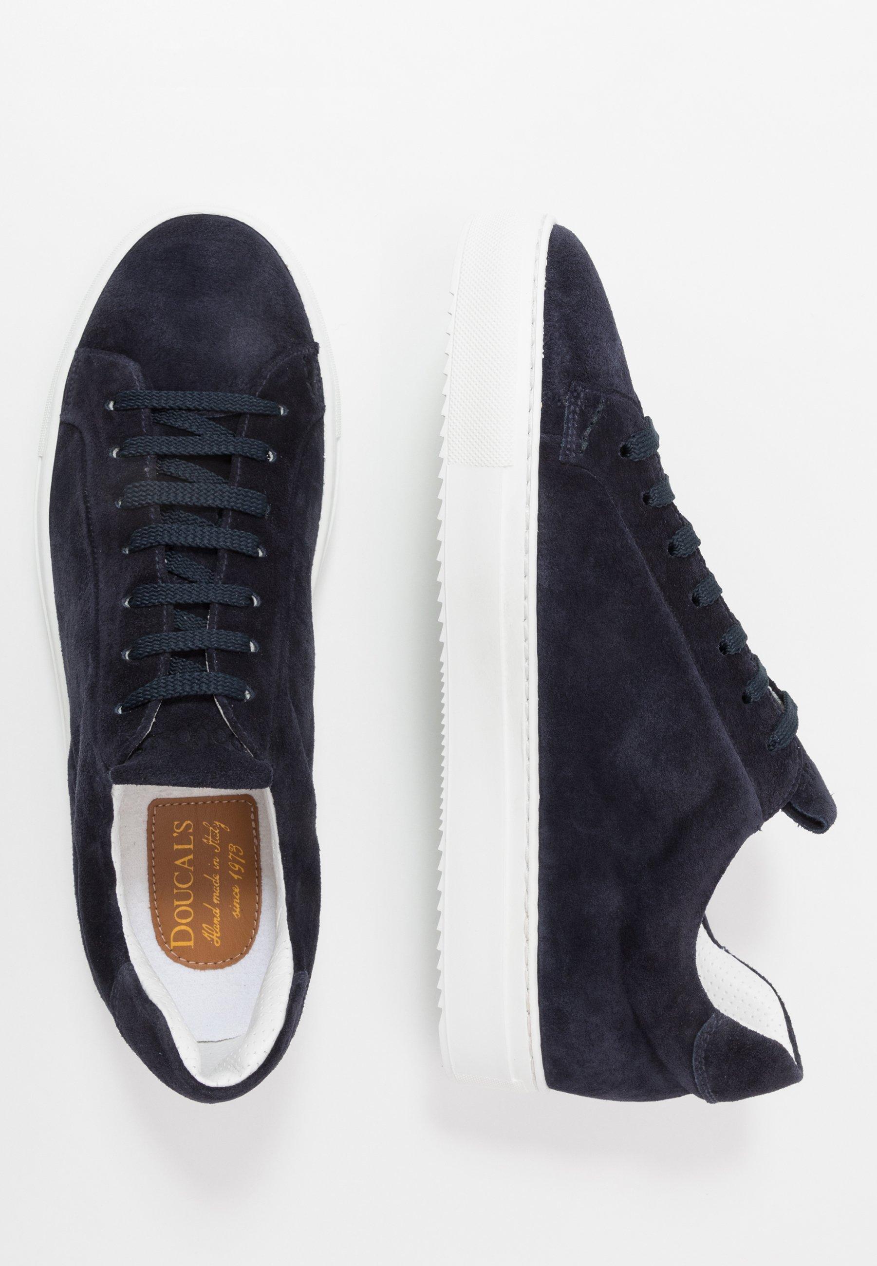 Doucal's Sneakersy Niskie - Wash Blu/bianco
