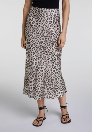 IN SCHLANGE - Pencil skirt - camel brown