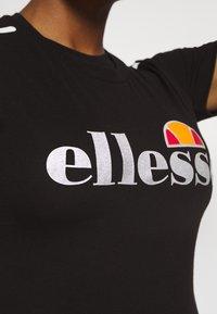 Ellesse - DELLE - Print T-shirt - black - 4