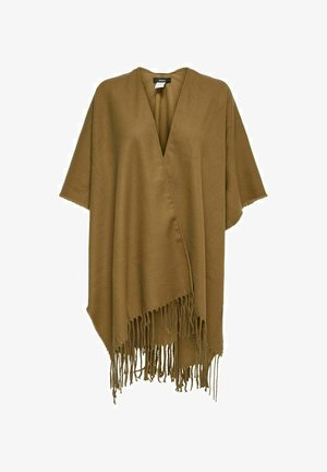 PONCHO VOLANT - Poncho - toasted coconut