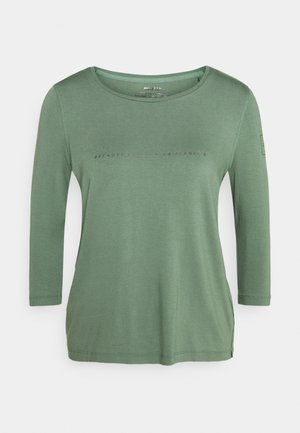 VELETA WOMAN - Long sleeved top - green shadow