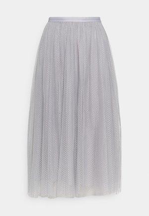 A-line skirt - dusk blue