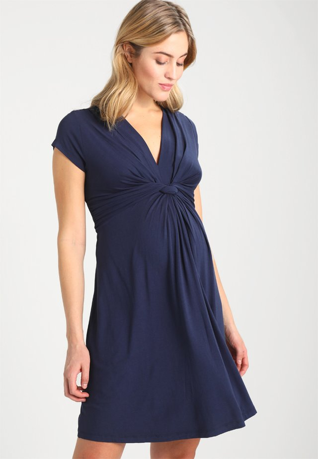 JOLENE - Jersey dress - navy