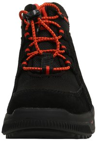 Timberland - CITY STOMP BUNGEE MID GTX - Lace-up ankle boots - jet black - 5