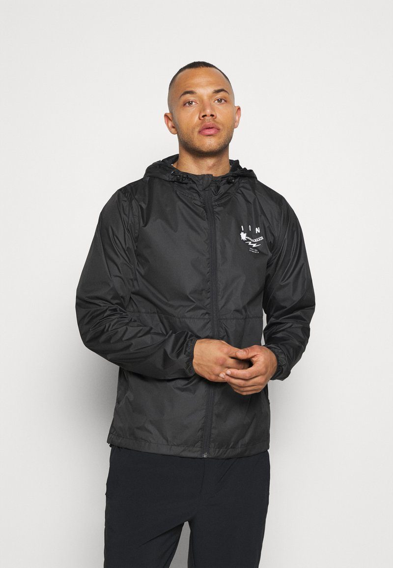 ION - RAIN JACKET - Trainingsjacke - black