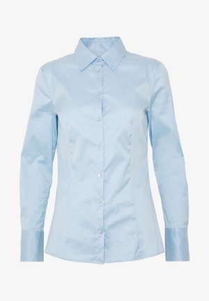 THE FITTED - Button-down blouse - light/pastel blue