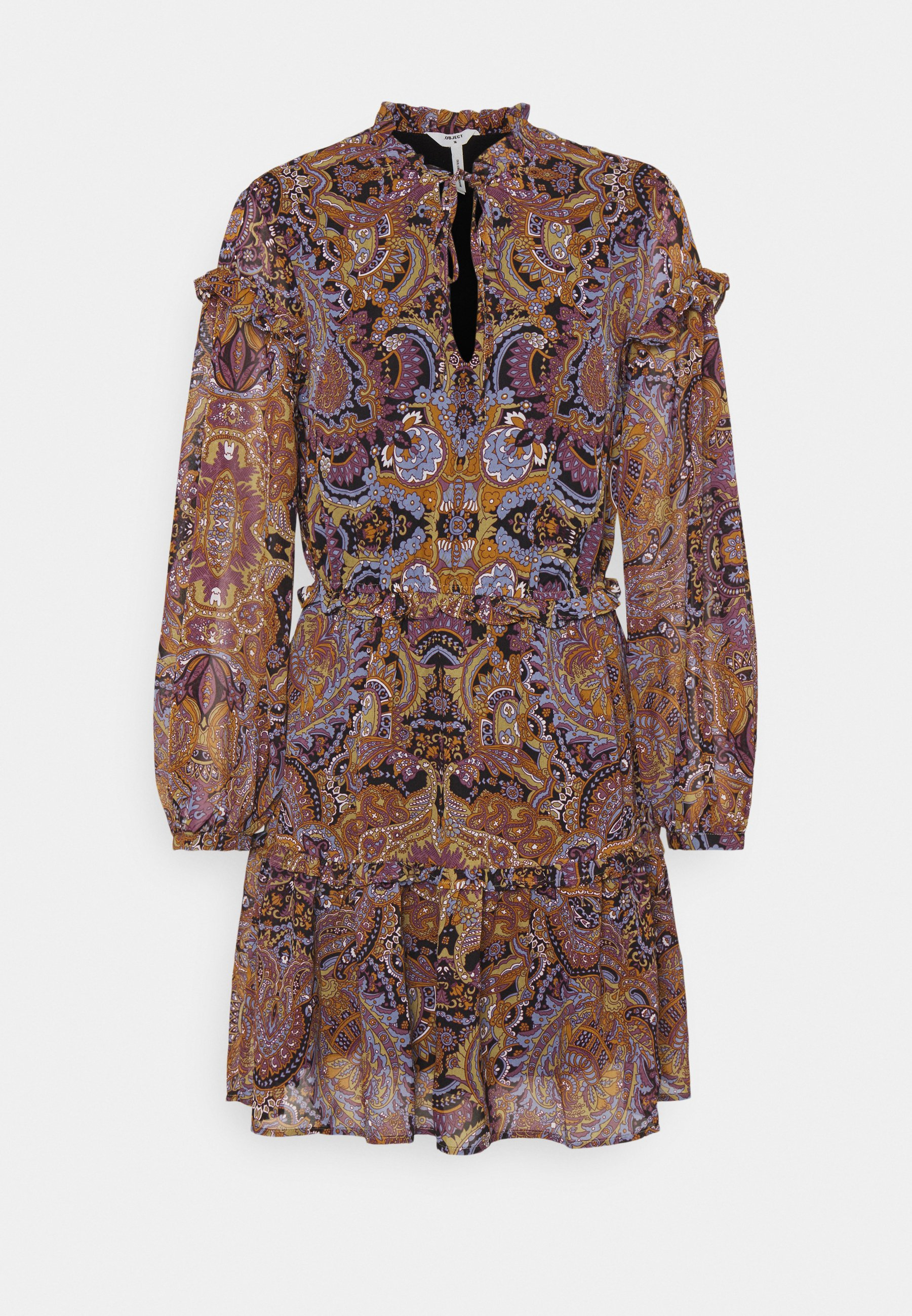 Women OBJMARCIN SHORT DRESS - Day dress