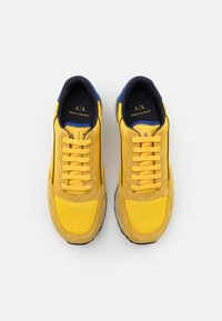 Armani Exchange - Trainers - yellow/bluette/navy - 3