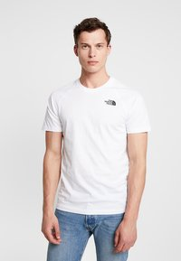The North Face - RAG DO TEE - T-shirt z nadrukiem - white - 0
