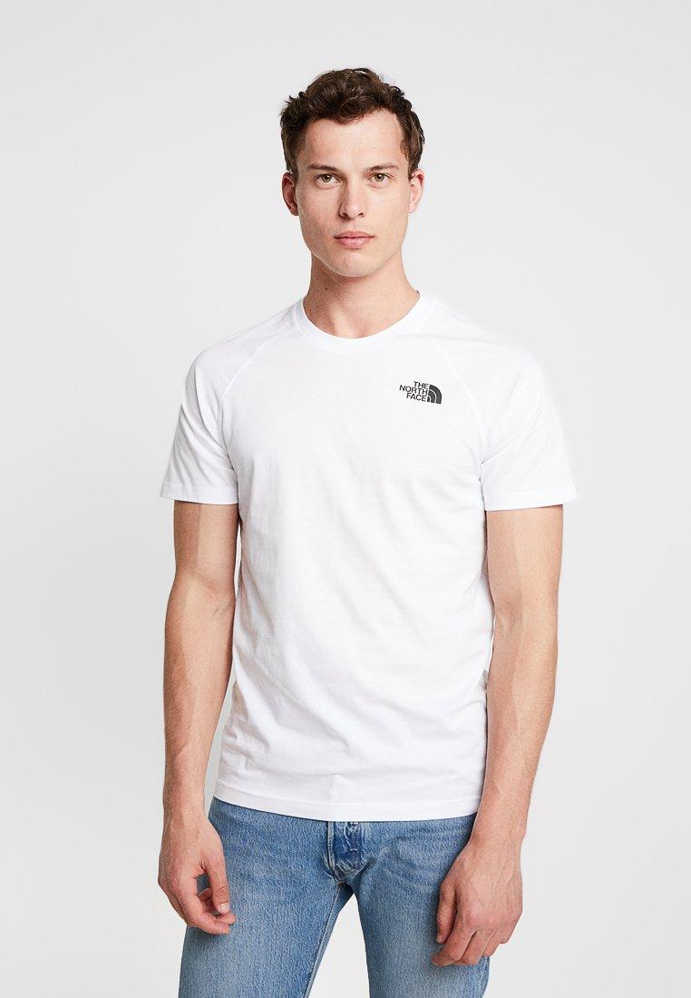 The North Face - RAG DO TEE - T-shirt z nadrukiem - white