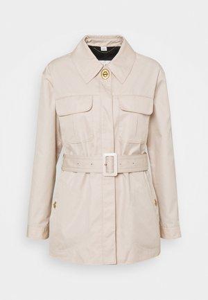 BELTED JACKET - Short coat - almond peach