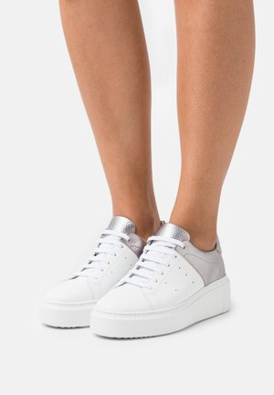 MELODY - Trainers - white/old silver