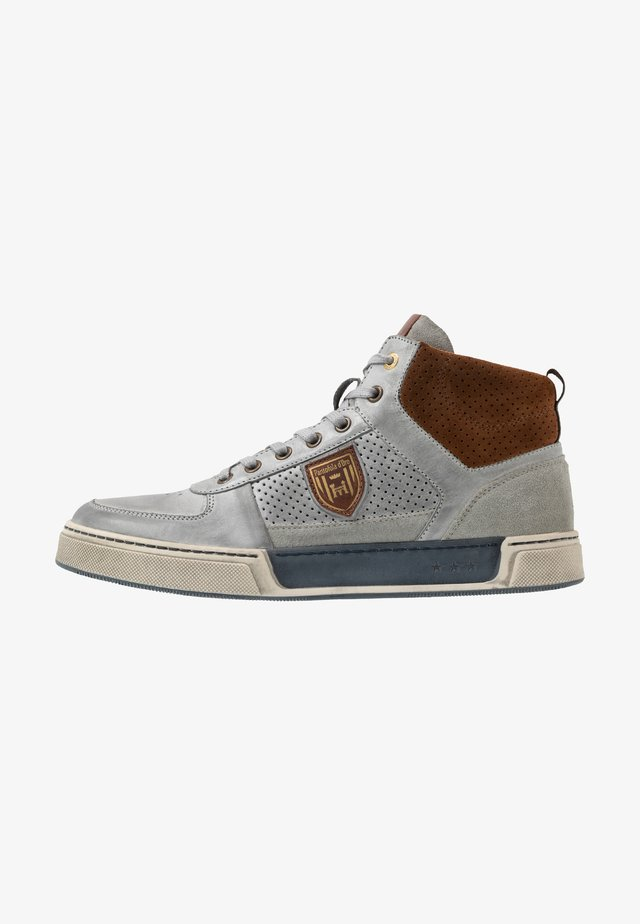 FREDERICO UOMO MID - High-top trainers - gray violet