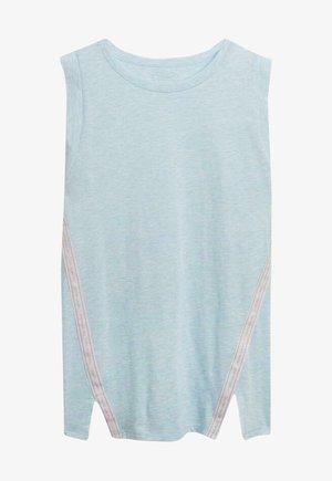 Pyjama top - celestial blue mel