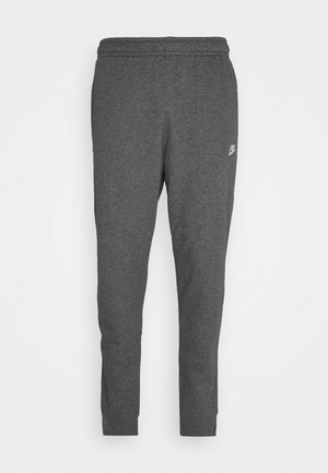 CLUB - Tracksuit bottoms - charcoal heathr/anthracite/white