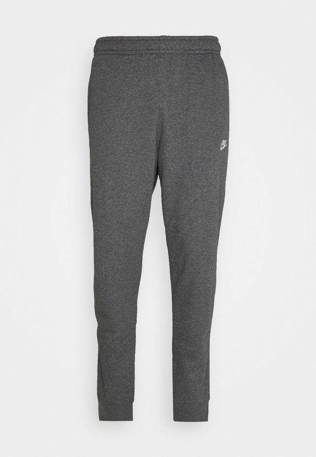 CLUB - Pantalon de survêtement - charcoal heathr/anthracite/white