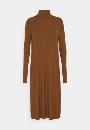 CALLAS - Jersey dress - rame
