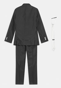 Suitmeister - BOYS GANGSTER PINSTRIPE SET - Kostým - black - 1