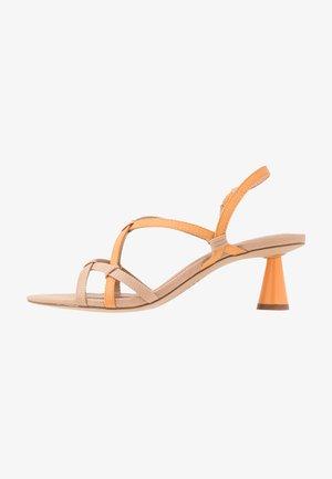 PERLA - Sandals - orange/ochre