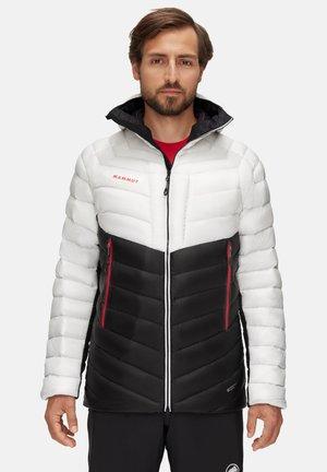 BROAD PEAK  - Down jacket - black/white