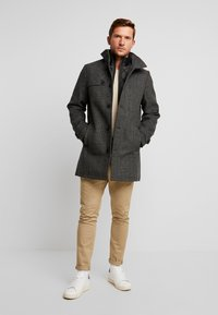 TOM TAILOR - 2 IN 1 - Classic coat - dark grey - 1