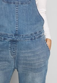 Forever Fit - DUNGAREE - Dungarees - mid blue wash - 5