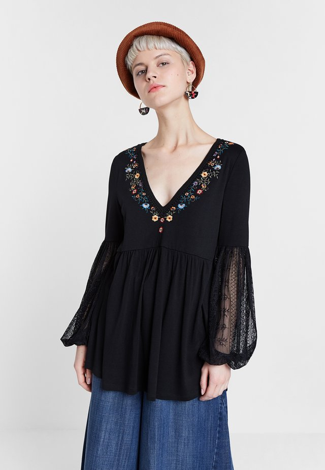 VERMONT - Blouse - black