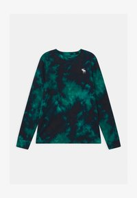 Abercrombie & Fitch - PRIMARY COZY CREW - Long sleeved top - green - 0