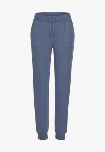 Tracksuit bottoms - jeans meliert