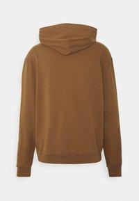 WAWWA - UNISEX LEAF HOOD - Sweatshirt - bark brown - 4