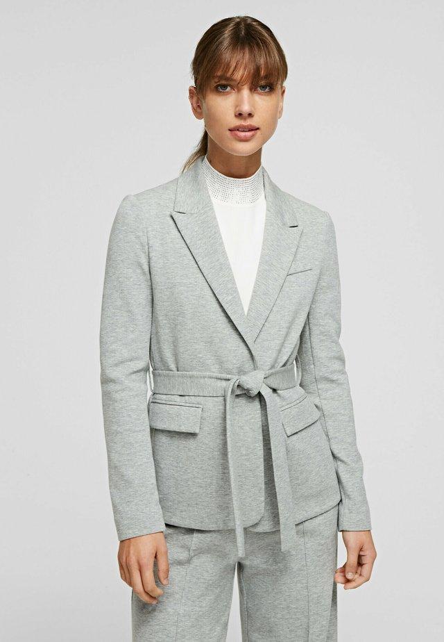 Blazer - grey melange