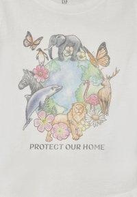 GAP - T-shirts print - new off white - 2