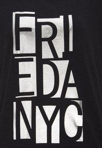 Frieda & Freddies - Long sleeved top - black - 2