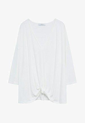 MONDY - Long sleeved top - cremeweiß