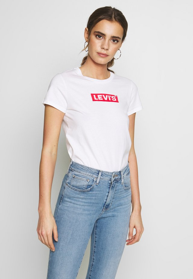THE PERFECT TEE - T-shirt con stampa - box tab white+