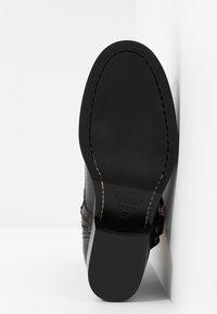 Belstaff - HARD RIDER BOOT PEBBLED  - Cowboy/biker ankle boot - black - 6
