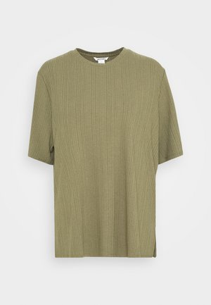 GILL - Basic T-shirt - khaki green medium dusty