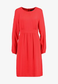Day dress - lava red