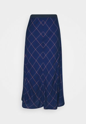 SKIRT - A-line skirt - royal